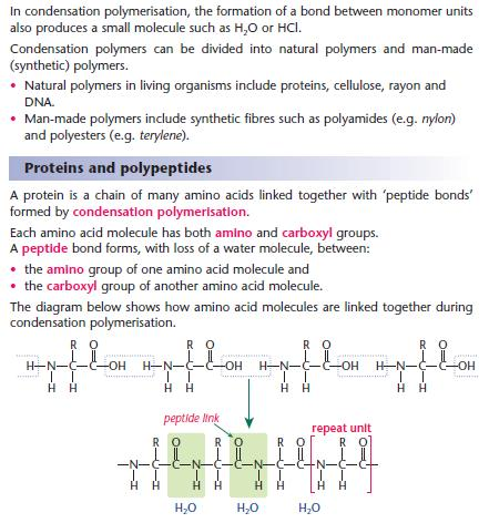 addition and condensation polymers pdf